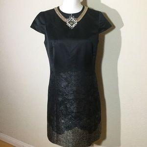 Ted Barker Size 2 Jeweled Shift Holidays Dress